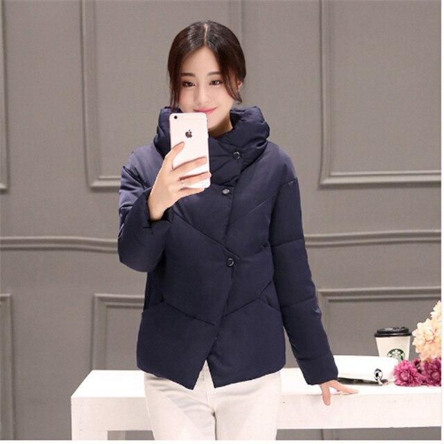 64fa2dc41e5 Ailooge осенняя и зимняя куртка-пуховик Для женщин Мужские парки 2017  Корейская короткая молния Тонкий