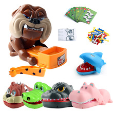 Funny Pet Tricky Toys Creative Beware of The Vicious Dog Bite Hand Paternity Interactive Games for