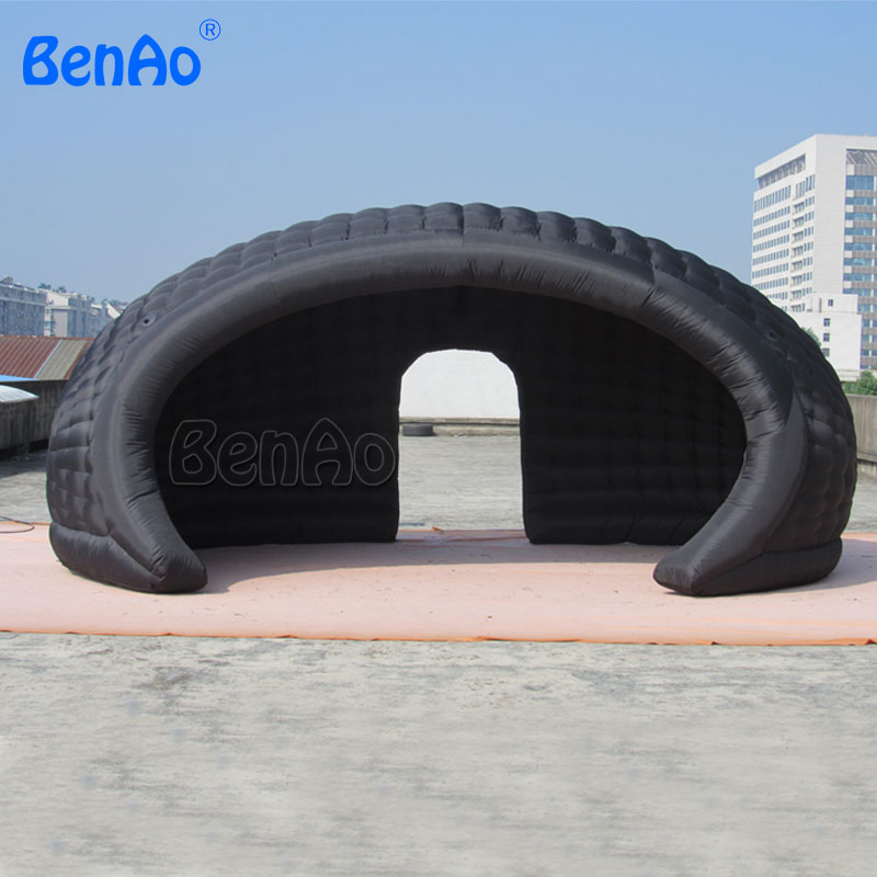 J003 20ft Inflatable tent Inside air blower High quality Free shipping BT02 Inflatable dome tent for event все цены