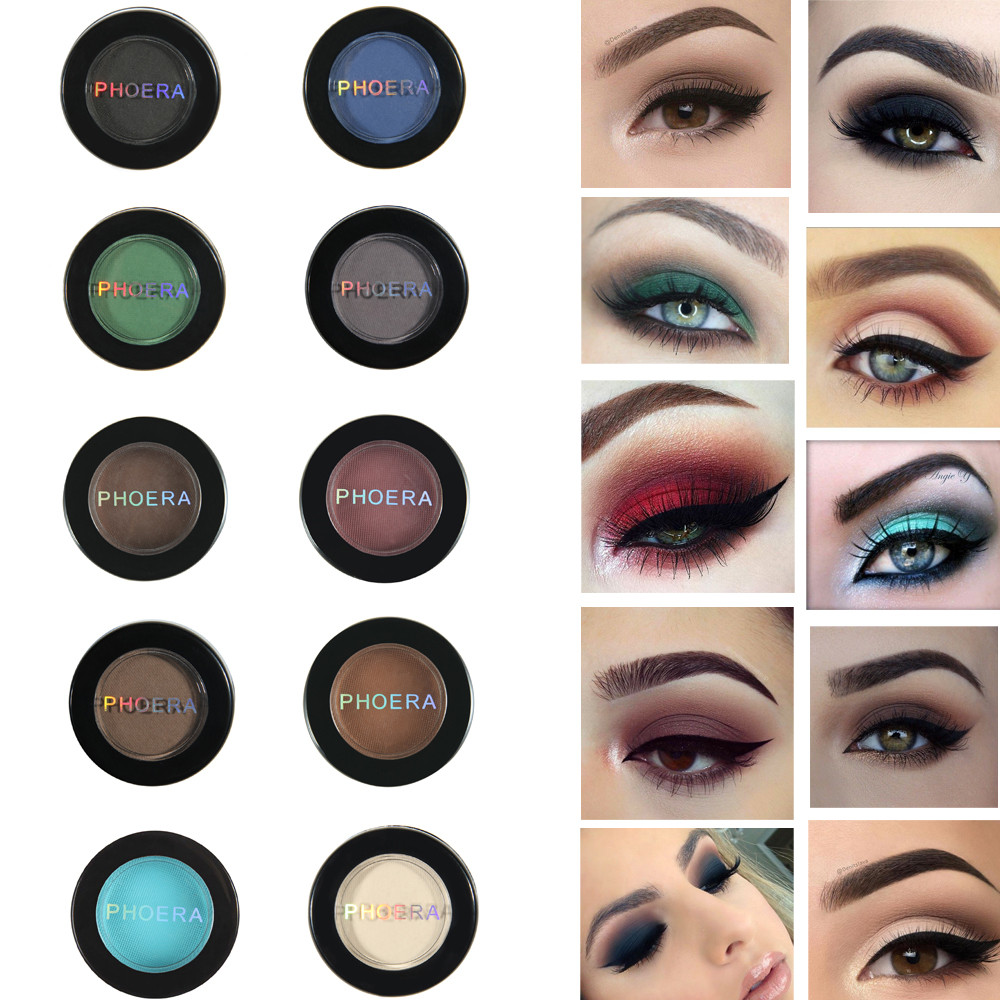 Sporting Phoera Glitter Shimmering Colors Eyeshadow Metallic Eye Cosmetic Metallic Eyeshadow Maquillaje Glitter Eyeshadow #61920 Without Return Beauty & Health Beauty Essentials