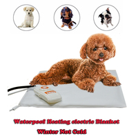Waterproof Safety Pet Dog Puppy Electric Heating Blanket Pad Mat Safty Eeasy Cleaning Small Animals Cats