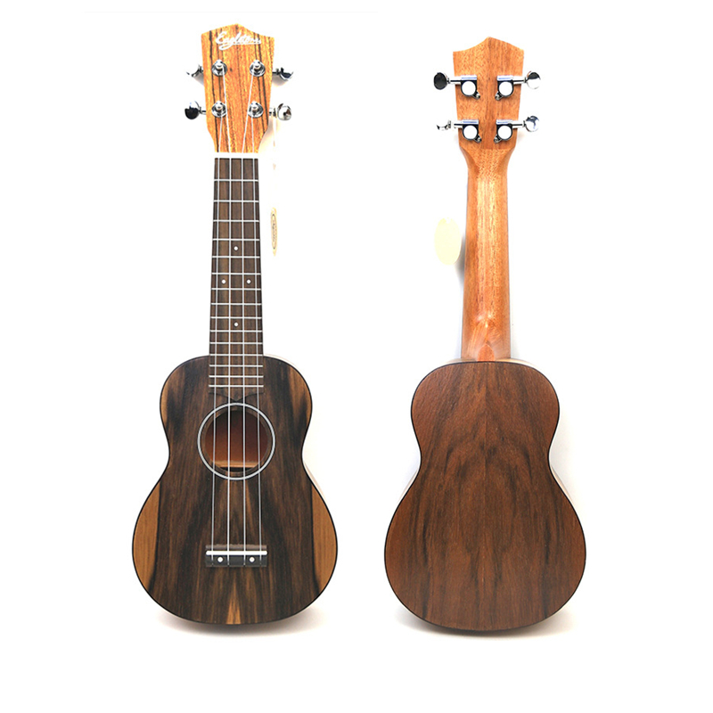 21 pouces ukulélé noyer 4 cordes Ukelele Mini guitare acoustique Ukelele Guitarra cordes instruments UK-H100