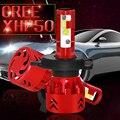 Mini7-H4/9003/HB2 2 шт./лот Светодиодные Автомобильные фары 60 Вт 9600LM высокий лм COB Белый свет водонепроницаемый высокое качество Освещение Фары