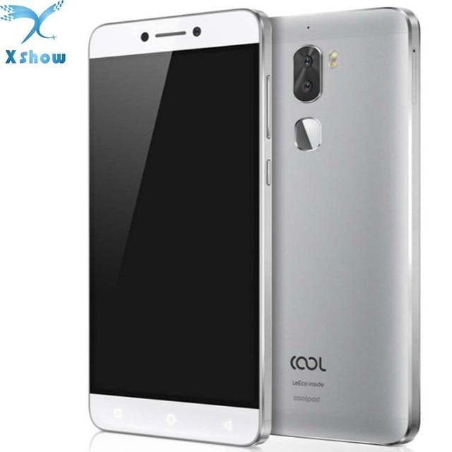 """Оригинальный смартфон LeTV cool 1 Dual LeEco Coolpad cool1 с процессором Snapdragon 652 мобильный телефон 3 ГБ Оперативная память 32 ГБ 5,5 """"FHD 13MP сотовый телефон с идентификацией по отпечатку пальца"""