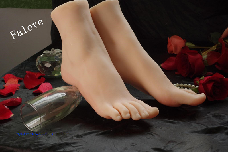 Free Shipping!! New Arrival High Quality Silicone Mannequin Foot Model Manikin For Sale