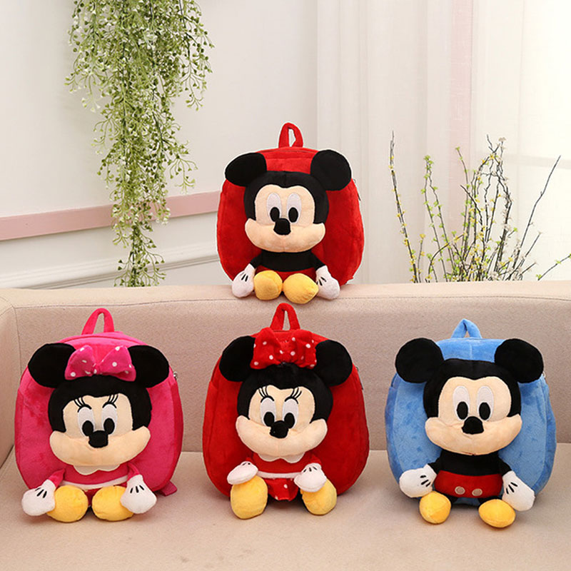 New fashion children cartoon plush bags backpack child small baby mini cute