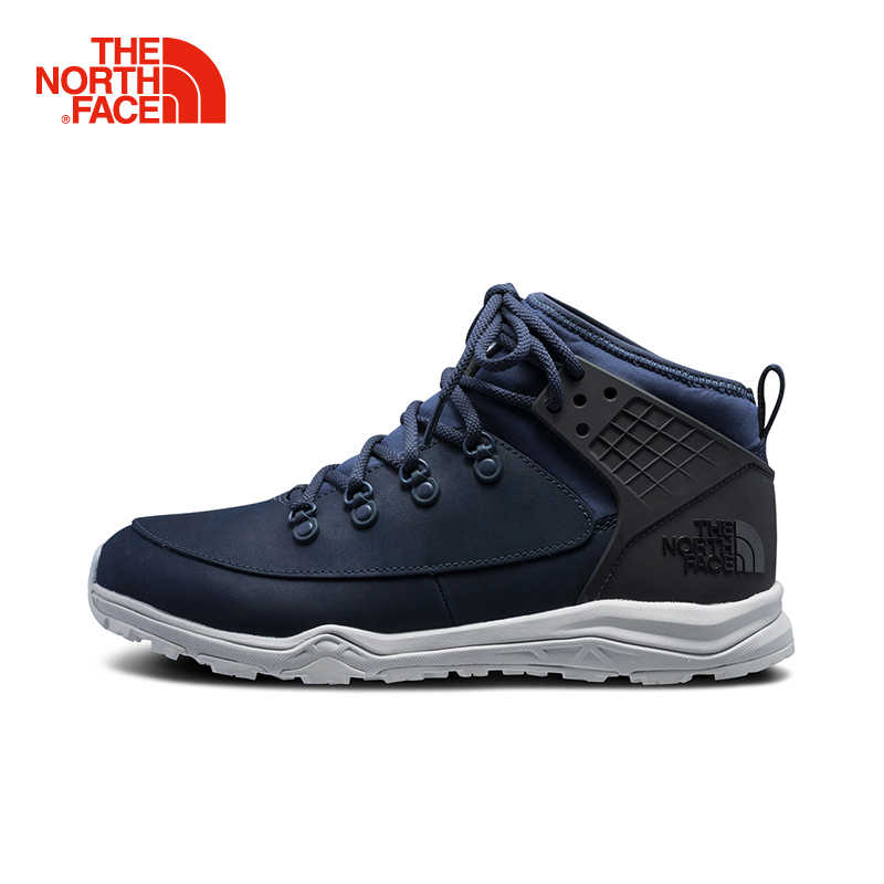 d475e49560 The North Face Hiking Shoes for Men Middle Cut Wear Resistant Comfortable  Outdoor Sports Durable Camping