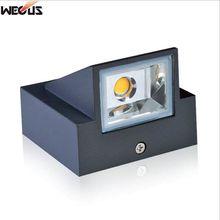 Наружный водонепроницаемый(IP65) настенный светильник, литой алюминий, AC90-265V 3W