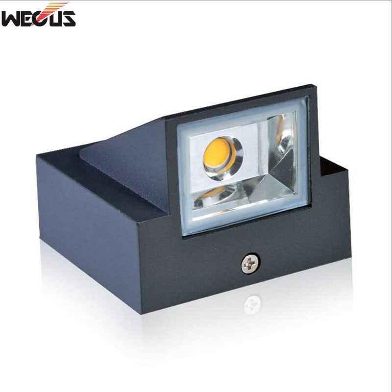 Outdoor waterproof (IP65) wall lamp, die-cast aluminum, AC90-265V 3W