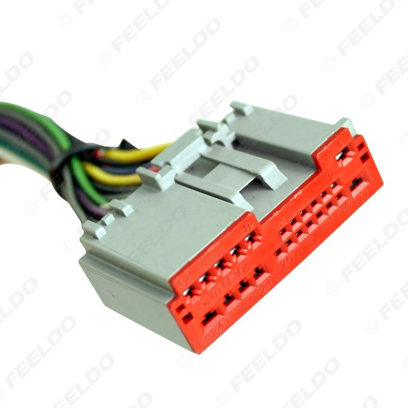 feeldo car radio player wiring harness audio stereo wire adapter for rh aliexpress com
