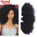 8A Pelo Virginal Rizado rizado mongol Del Pelo Rizado Afro Armadura Del Pelo humano Lía Ofertas del Viernes Negro Rosa Reina Cabello productos