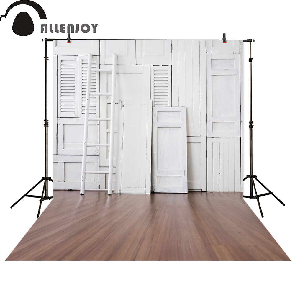 Allenjoy photo backdrops whtie door shutter ladder wood floor photocall photographic photo studio photobooth fantasy allenjoy photographic background pink stage halo glitter backdrops photobooth fantasy props cloth fabric photo studio