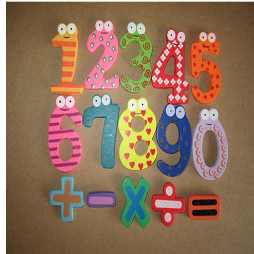 Chamsgend Магнитные деревянные числа математика набор цифровой Детские развивающие игрушки для вашего милый дорогой Best продавец APR13 P30
