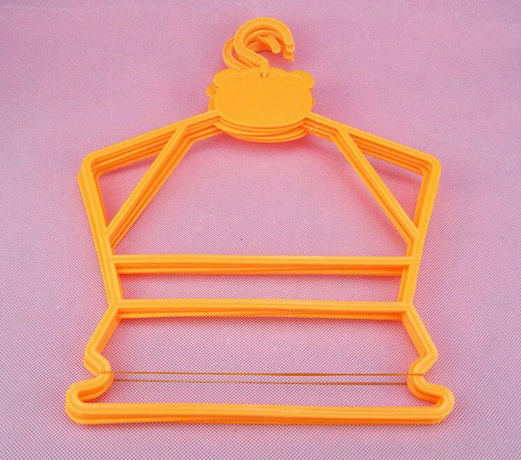 30 unids / lote percha de plástico para niños perchas combinadas - Organización y almacenamiento en la casa - foto 3