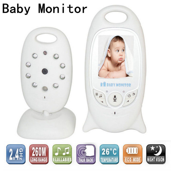 The New Baby Monitor 2.0 inch Wireless Video Security Camera 2.4GHz Radio Babysitter Electronica Audio Night Vision Radio Nanny
