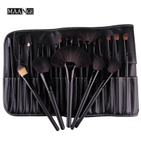 High Quality Makeup Brushes Set 24Pcs Cosmetics Beauty Foundation Powder Brush Set Pincel Maquiagem Kits Leather