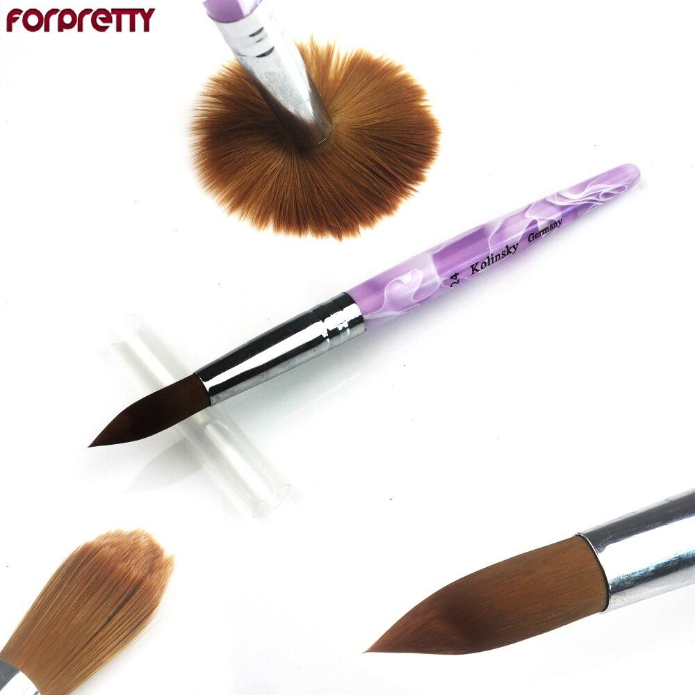 Groothandel Tools - 24 # Acryl Nail Art Penselen Draw Pen Nail Brushe - Nagel kunst