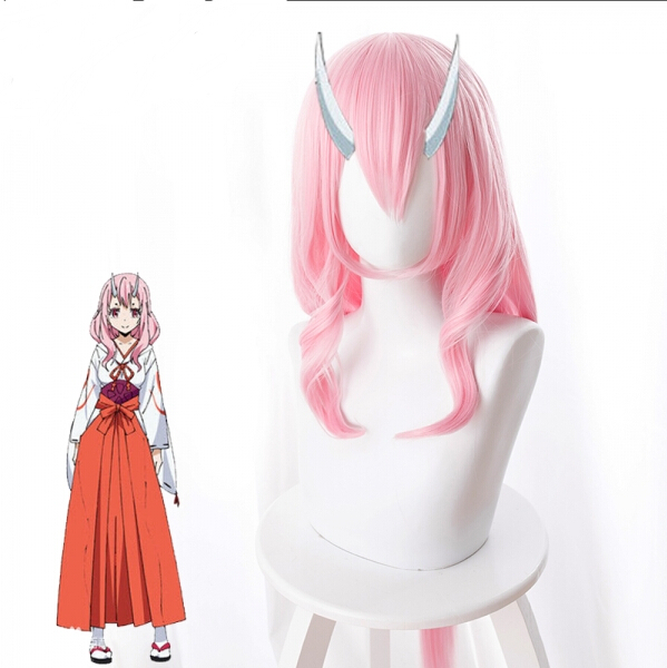 Costume Props That Time I Got Reincarnated As A Slime Shuna Cosplay Wig Cosplay Costume Hair 80cm/31.5inches Halloween Party Wig Be Novel In Design Costumes & Accessories