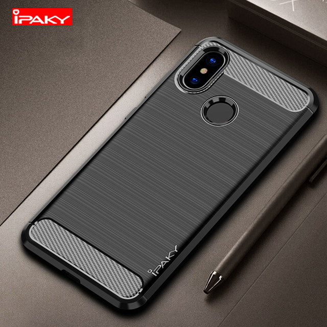 separation shoes afce1 0d456 US $4.74 5% OFF|IPAKY Phone Case Bumper Silicon Cover On For Xiaomi Mi A1  A2 Lite MiA1 MiA2 MiA2Lite A2Lite Global 3/4 32/64/128 GB Xiomi Light-in ...