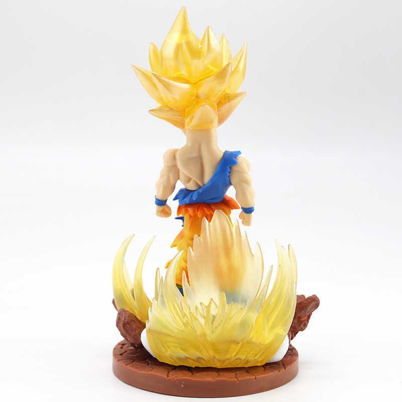 Dragon Ball Z Super Saiyajin Jin 2 Son Goku PVC Figura Collectible Modelo Toy 15.5 centímetros goku de dragon ball ação