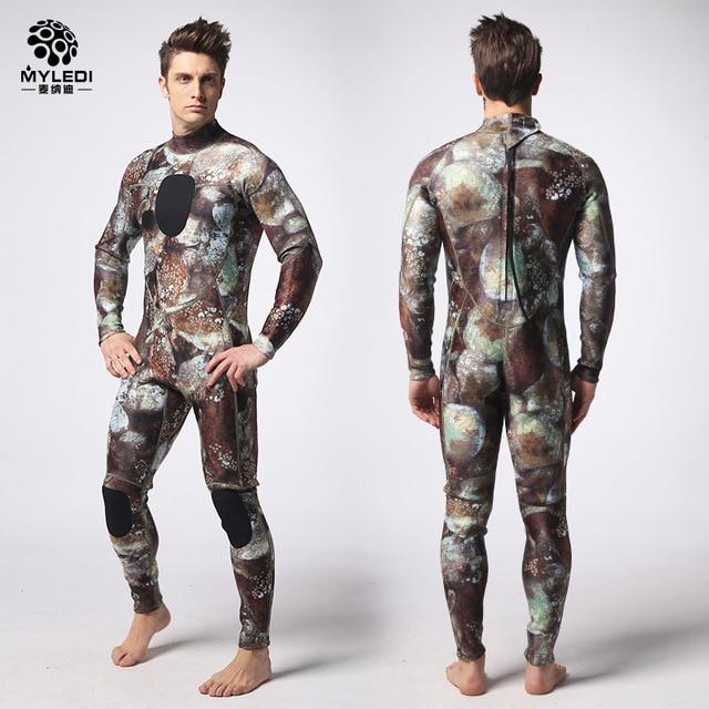 MYLE GEND 3mm scuba diving suit SCR chloroprene rubber submersible surfers prevent