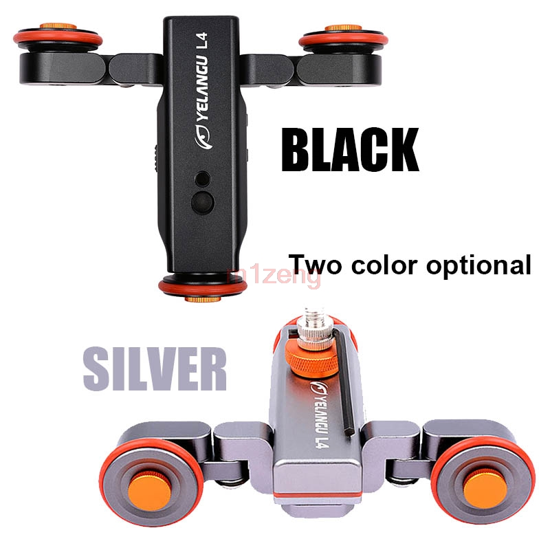 3 wheel Wireless Remote Control Electric Video Photograph Rail Track Slider Table Dolly Car for canon nikon pentax camera phone image