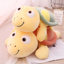 цена Cute Tortoise Plush Toy Soft Stuffed Animal Cushion Kawaii Cartoon Sea Turtles Doll for Girl Plush Pillow Kid Toys Birthday Gift онлайн в 2017 году