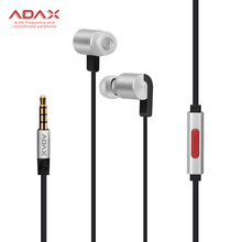 Newest earphone Broadband original HT06 Bass Stereo Wired In-Ear earphones with microphone for ios android with High-end box