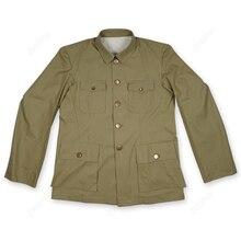 Мировая война два мужчины Униформа Тип китайский костюм офицерами анти-японской травы зеленая куртка копия пленка экспорт Чистый хлопок