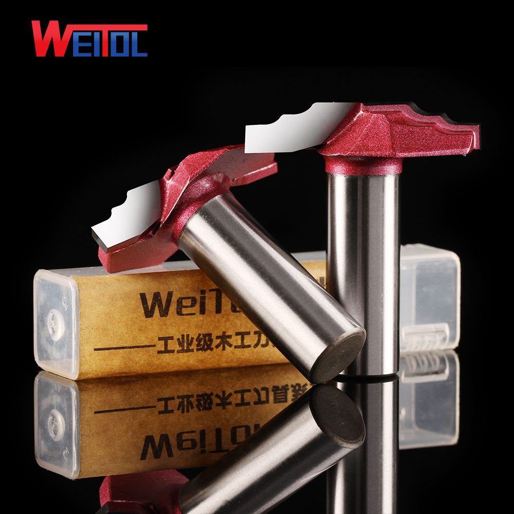 Weitol free shipping 1/2*35mm tungsten carbide Classical Ogee Router Bits Door Sheet Patterns Carving Tool For Woodworking free shipping pro grade 50pcs tungsten carbide 1 2inch router bits set with wooden case