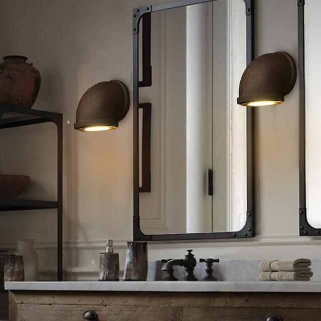 Die Alte Wandleuchten LED Wasser Rohr Bad innenbeleuchtung Wand ...