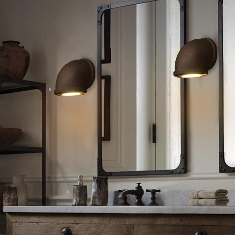 Die Alte Wandleuchten LED Wasser Rohr Bad Innenbeleuchtung Wand Lampen Loft  Design Club Bar Treppen