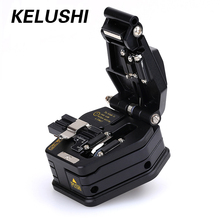KELUSHI Fiber Optic Tools Cleaver SKL-6C Cutter Cable Cutting Tool 16 surface blade for FTTX FTTH Splicer Fusion