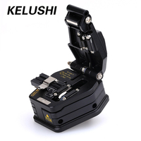 KELUSHI Fiber Optic Tools Fiber Cleaver SKL 6C Cutter Cable Cutting Tool 16 surface blade for FTTX FTTH Fiber Splicer Fusion