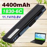 קיבולת גבוהה 4400 mAh סוללה למחשב נייד עבור Acer LC. BTP00.130 עבור Aspire one 721 753 1430Z AS1551 1830 T מחיר מיוחד!!