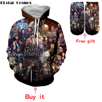 PLstar Cosmos The white walkers Ghost 3D Printed Popular TV Game of Thrones Men/Women pullover casual Hoodies Sweatshirts Tops