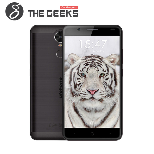 Original ULEFONE TIGER MTK6737 1.3GHz Quad Core 5.5 Inch 2.5D Corning Gorilla Glass 3 HD Screen Android 6.0 4G LTE Mobile phone