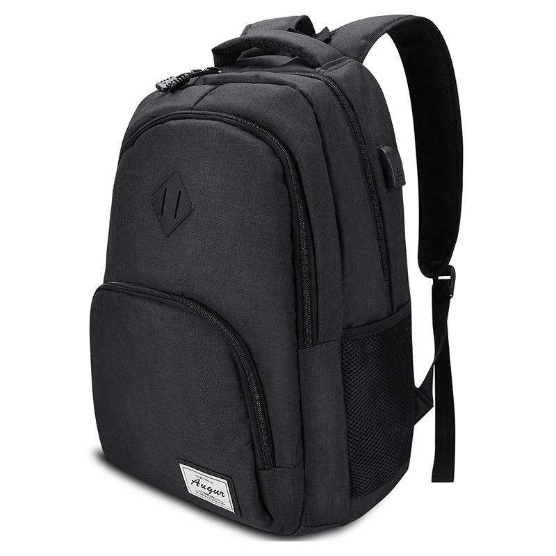 Men Backpack USB Charging For 15.6 Inches Business Travel  Waterproof Laptop Bagpack Student Bookpack Casual Style School Bag