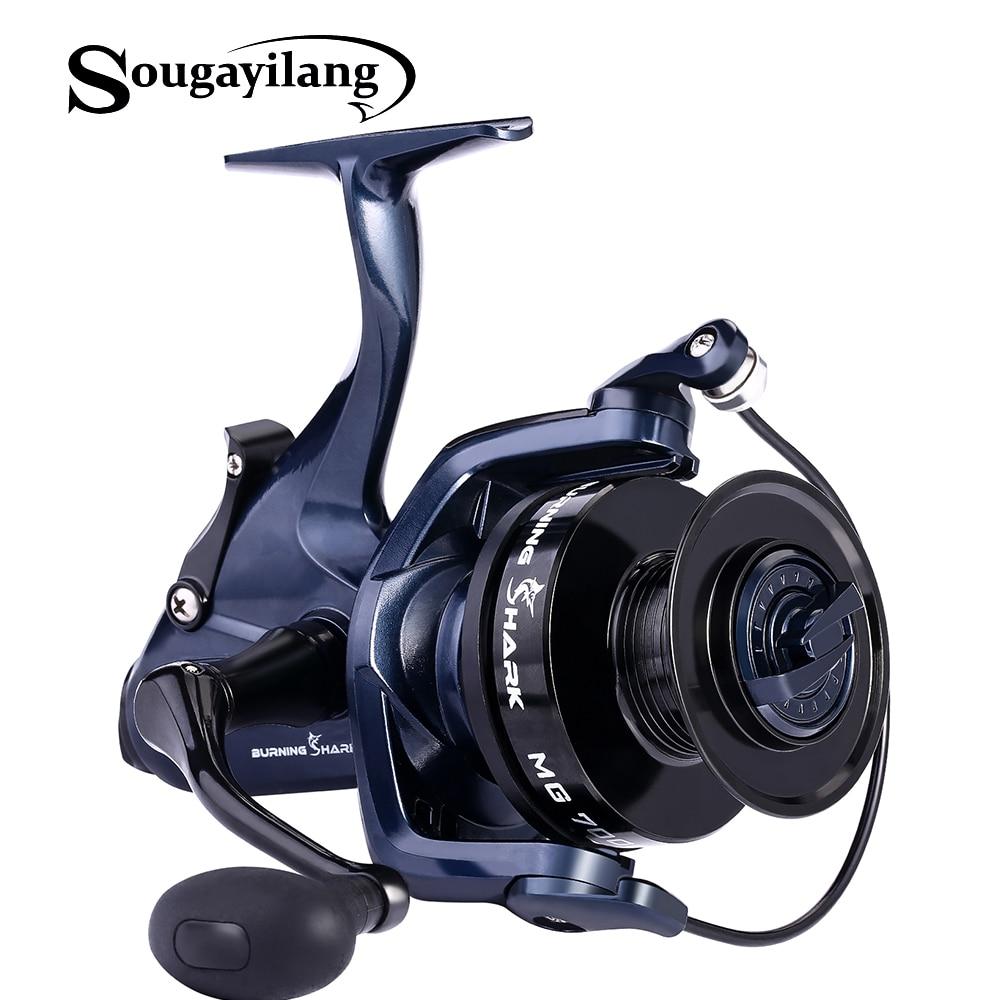 Sougayilang 7000 スピニングリール 13 + 1BB 海釣りリールフィーダー鯉リール釣具コイルデペスカドラッグ魚  グループ上の スポーツ & エンターテイメント からの 釣りリール の中 1