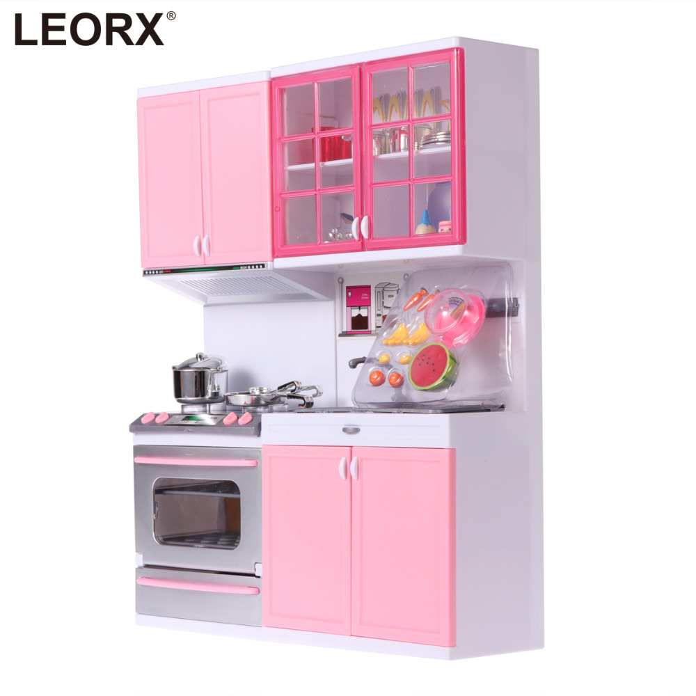 US $24.61 37% OFF|Girl Plastic Pretend Play Kitchen Toys Children Playing  House Game Kitchenwarre Tools Lovely Birthday Gift Toys (Pink)-in Kitchen  ...