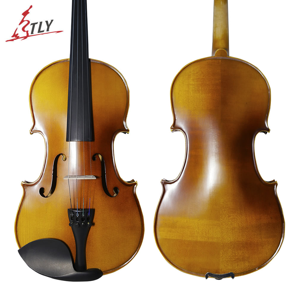 TONGLING Brand Maple Matte Violin Violino Fiddle 4/4 3/4 Beginner Musical Instrument with Full Set Accessories Case Bow Strings image