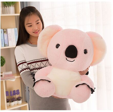 big cute plush pink koala toy high quality stuffed koala doll gift about 50cm fancytrader new pop animal koala plush toy big stuffed plush koala doll 50cm best gift for children