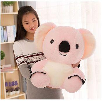 big cute plush pink koala toy high quality stuffed koala doll gift about 50cm