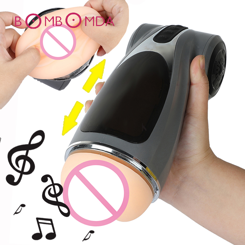Male Masturbator Automatic Telescopic Masturbation Cup Intelligent Real Pussy Sex Machine Rechargeable Adults Sex Toys for MenMale Masturbator Automatic Telescopic Masturbation Cup Intelligent Real Pussy Sex Machine Rechargeable Adults Sex Toys for Men