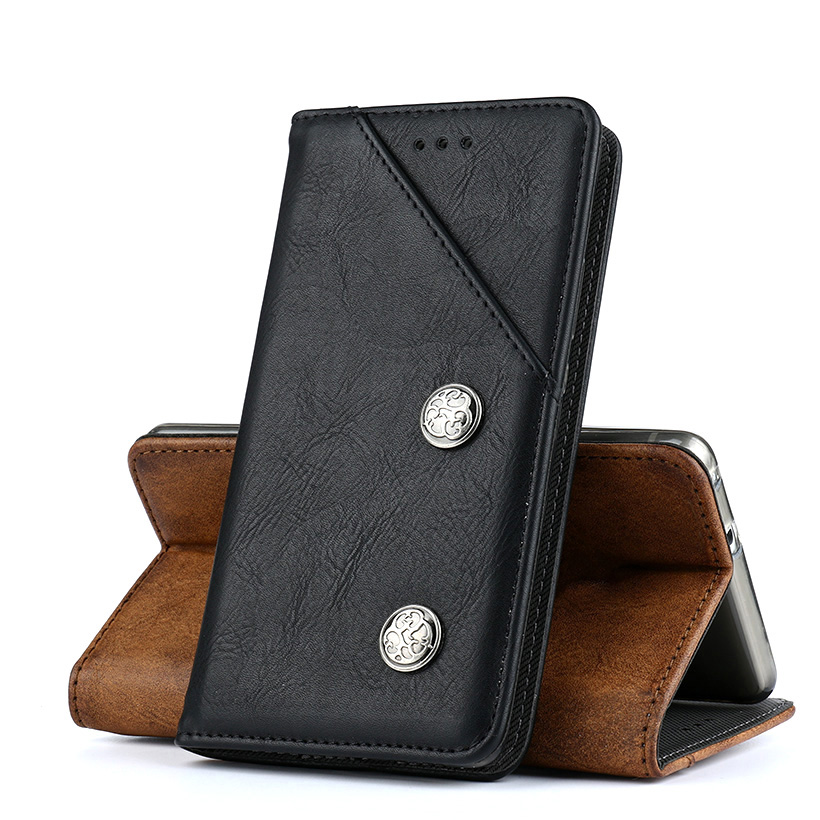 TAOYUNXI Vintage Case For Essential PH-1 Case Flip Magnetic PU Leather Cover For Elephone A4 A5 P8 Max Mini S7 Cover