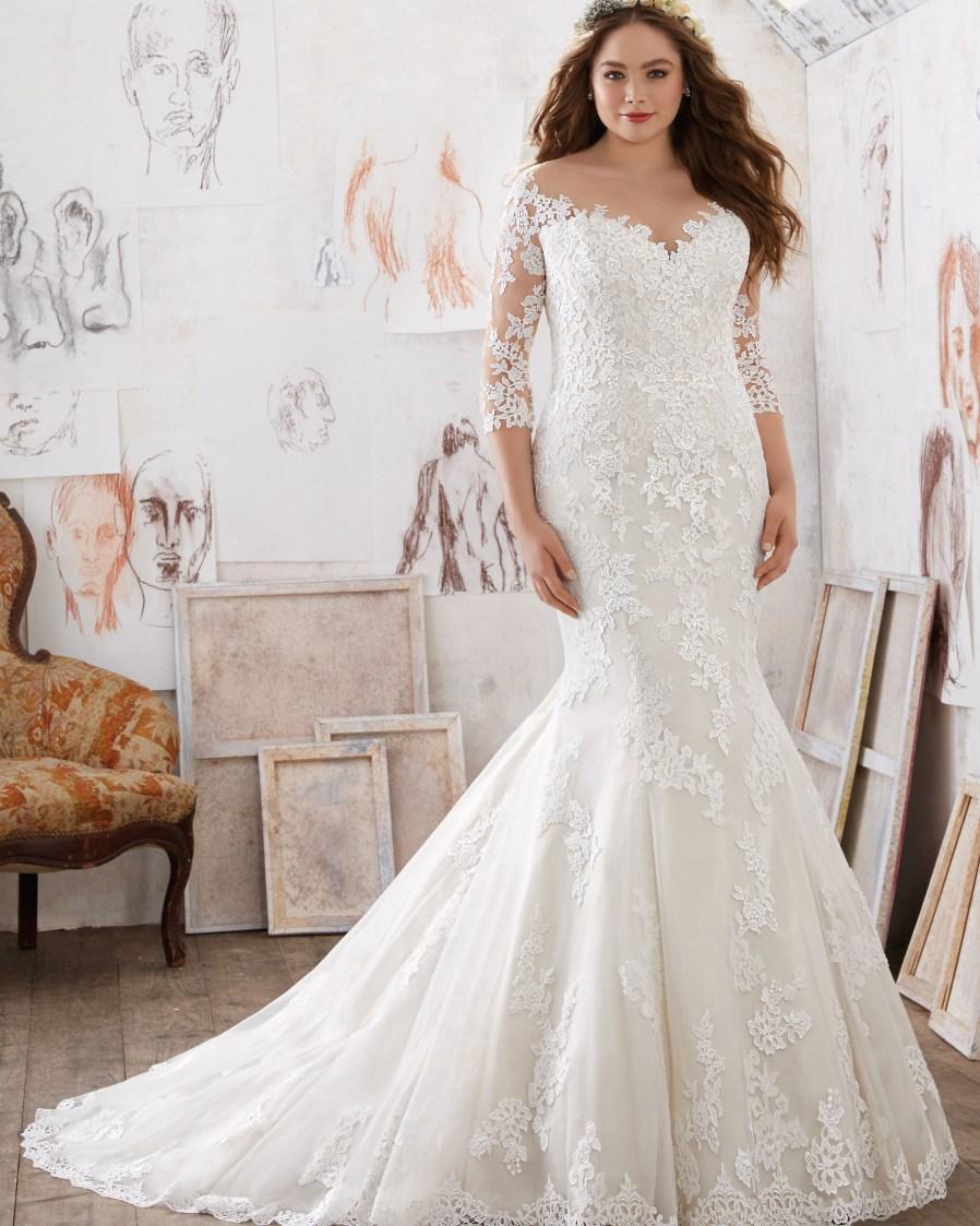 Nett Bester Brautkleider Für Plus Size Bilder - Brautkleider Ideen ...