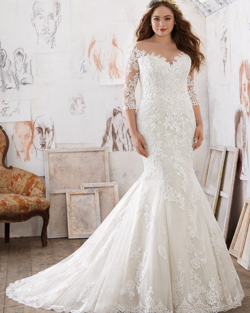 Vestido De Noiva Plus Size Brautkleid 2016 Orientalisch Reizvolle ...