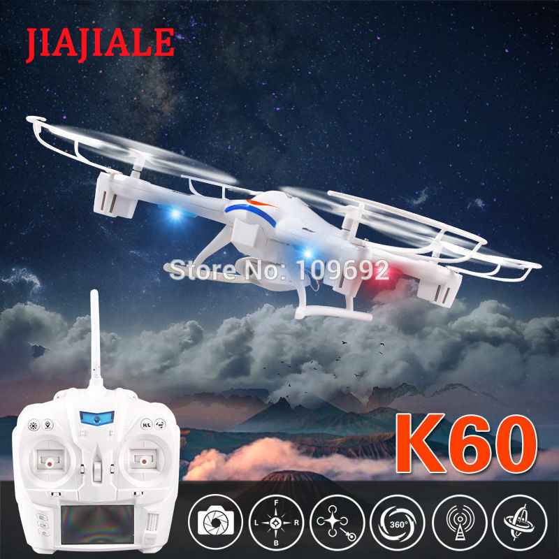 JIAJIALE Kai Deng K60 RC Drones 2MP HD caméra UFO 2.4G 5CH 6 axes quadrirotor LCD affichage hélicoptères VS Syma X5C-1 X8C X400