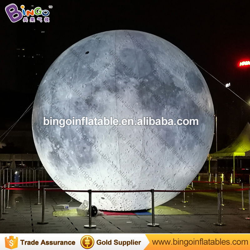2m dia. inflatable moon ball, moon balloon with led light 2 5m diameters led lighting inflatable moon ball promotional hanging decoration blow up balloon type moon replica toys