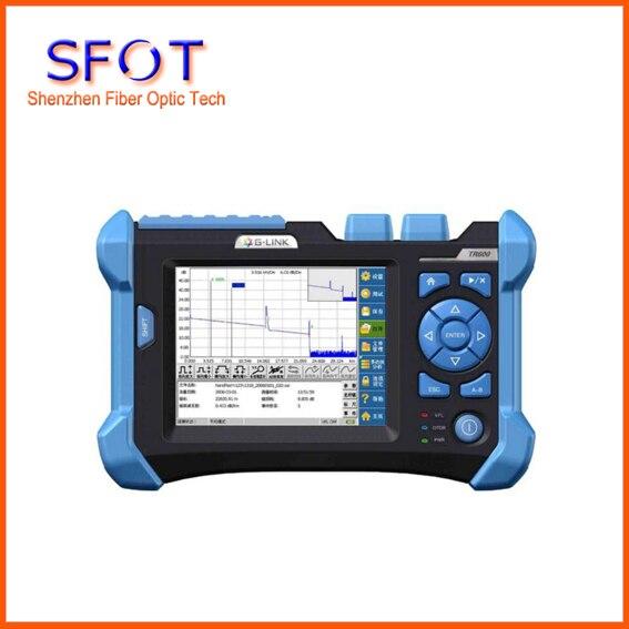 OTDR TR600 с 1310/1550 нм 32/30 дБ, функция визуального определения местоположения, оптический Волоконно оптический рефлектометр, оборудование для тес
